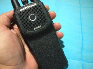 EP450 é um dos rádios da Motorola mais procurados