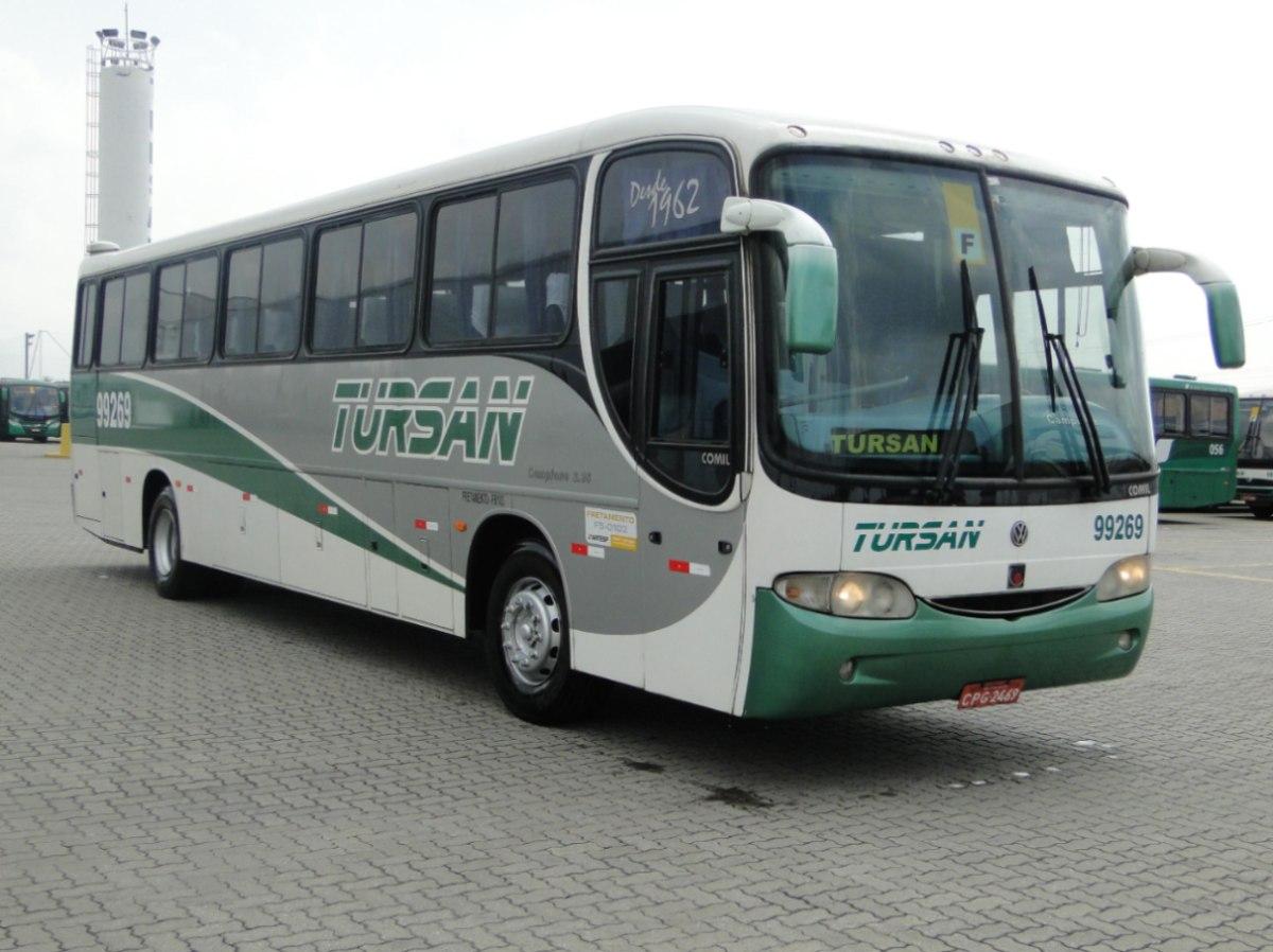 Venda de ônibus usado tem destaque no mercado